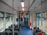 Interior Of Low Floor Inekon Tram