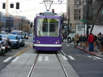 Inekon streetcar on Westlake Avenue in Seattle!