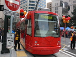 Seattle streetcar Grand Opening - Downtown Westlake Hub