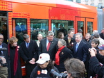 Seattle streetcar - inaugural ride.