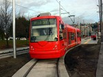 Streetcar along Lake Union Park!